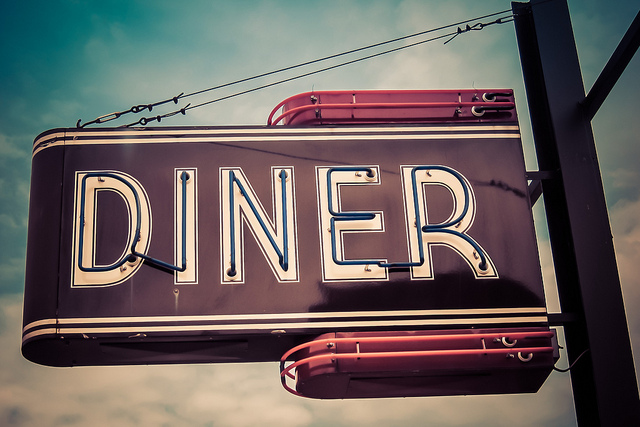 "Reconstructing a story from questions: ""Tom's Diner"""
