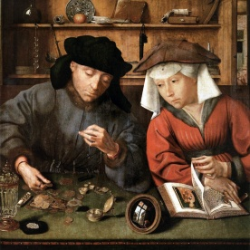 the-moneylender-and-his-wife