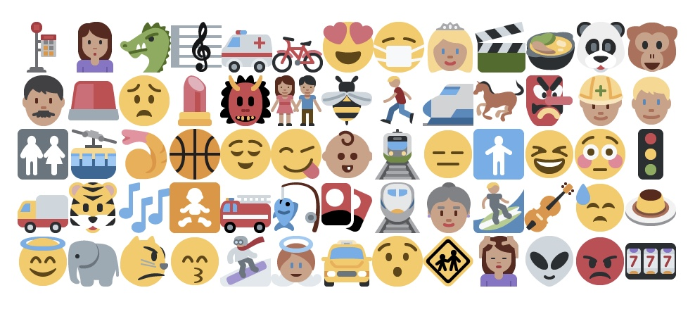 Two online tools to practise speaking and listening skills with emoji